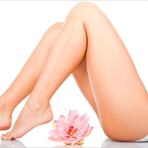 Dauerhafte Haarentfernung Beine Ganz (Von Zehen Bis Bikinizone) SHR IPL