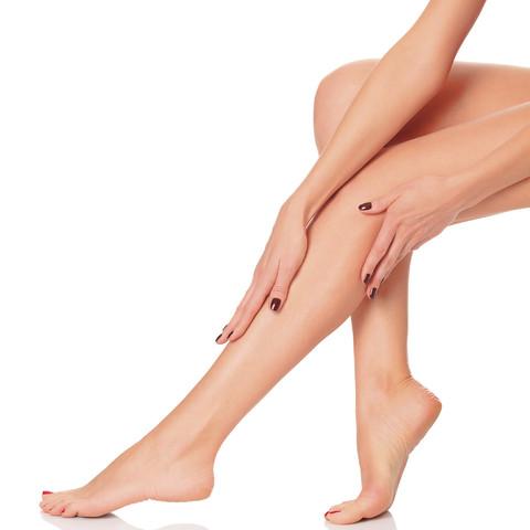Dauerhafte Haarentfernung Unterschenkel (Von Zehen Bis Knie) SHR IPL